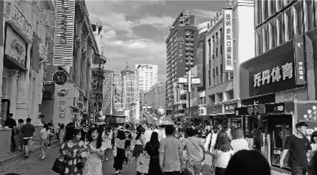 """""""十一""""期间沈阳中街商圈客流量超过200万次"""